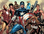 Ultimates (Earth-1610) and Susan Storm (Earth-1610) from Ultimate Comics Ultimates Vol 1 18 002