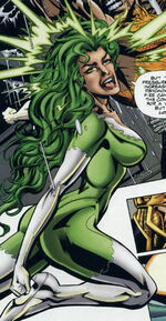 Beatriz Grey (Earth-9602) from JLX Vol 1 1 0002