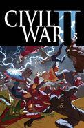 Civil War II Vol 1 5 Textless