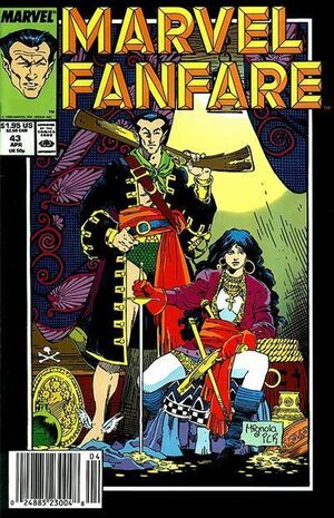 Marvel Fanfare Vol 1 43