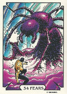 Sergei Kravinoff (Earth-616) from Mike Zeck (Trading Cards) 0004