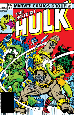 Incredible Hulk Vol 1 282