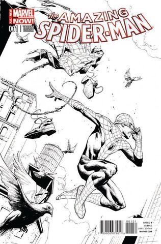 File:Amazing Spider-Man Vol 3 1 Opeña Sketch Variant.jpg