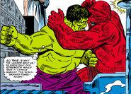Bruce Banner (Earth-616) vs the Amphibian