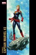 Mighty Captain Marvel Vol 1 2 Corner Box Variant