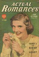 Actual Romances Vol 1 1