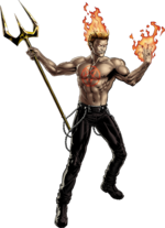 Daimon Hellstrom (Earth-12131) from Marvel Avengers Alliance 0002