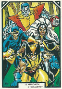 X-Men (Earth-616) from Arthur Adams Trading Card Set 0001