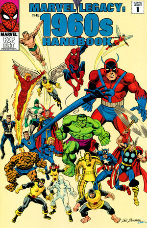 Marvel Legacy The 1960s Handbook Vol 1 1