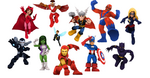 Avengers (Earth-91119) from Marvel Super Hero Squad Online 001