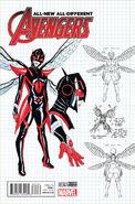 All-New, All-Different Avengers Vol 1 9 Design Variant