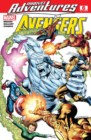 Marvel Adventures The Avengers Vol 1 6