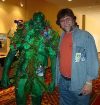 Swamp Thing and Len Wein