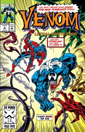 Venom Lethal Protector Vol 1 5