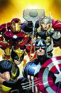 Avengers Vol 4 1 Textless