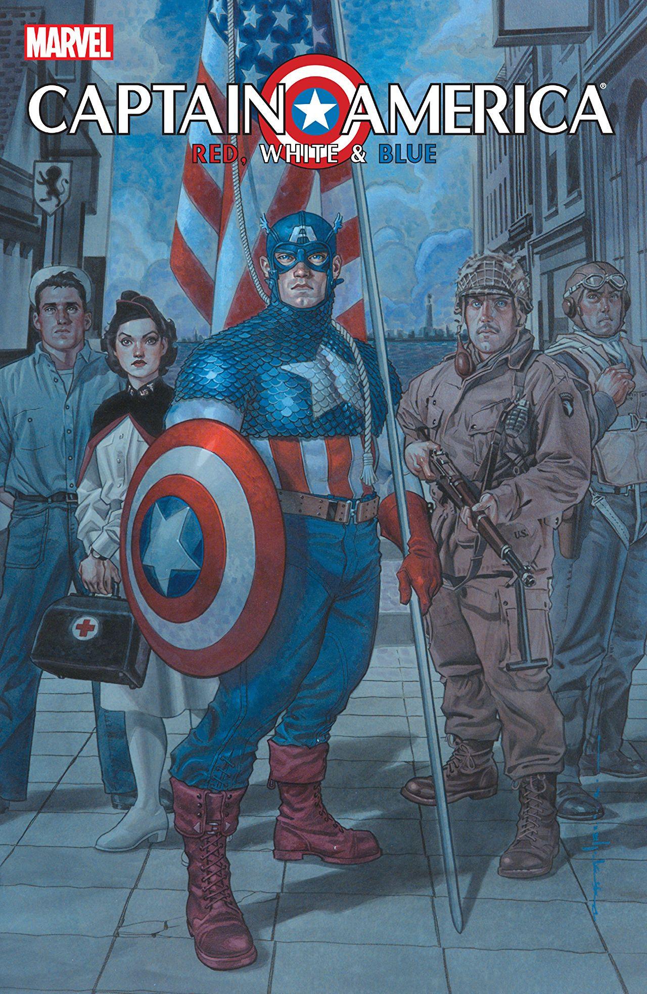 Captain America Red, White & Blue Vol 1 1