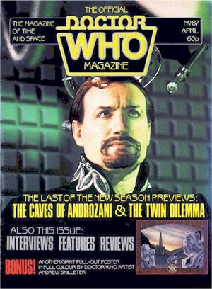 Doctor Who Magazine Vol 1 87