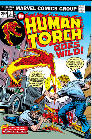 Human Torch Vol 2 2