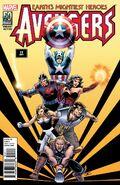 Avengers Vol 5 19 50 Years of Avengers Variant 4