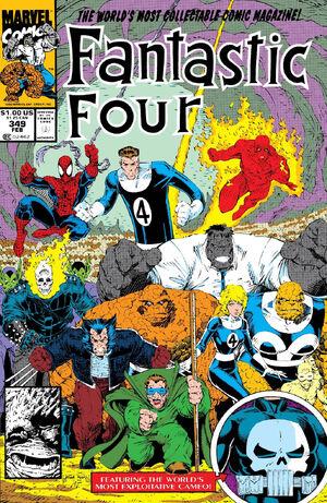 Fantastic Four Vol 1 349