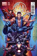 New Avengers Vol 3 3 Keown Variant