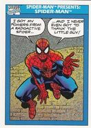 Spider-Man Presents Spider-Man from Marvel Universe Cards Series I 0001