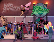 Young Avengers Vol 2 14 and 15 Textless Promo
