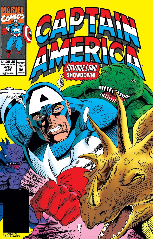 Captain America Vol 1 416