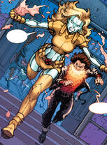 Paige Guthrie (Earth-616) and Jonothon Starsmore (Earth-616) from Nightcrawler Vol 4 4
