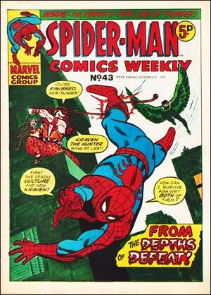 Spider-Man Comics Weekly Vol 1 43