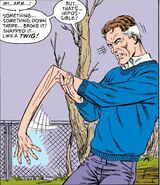 Reed Richards (Earth-616) broken arm from Fantastic Four Vol 1 276