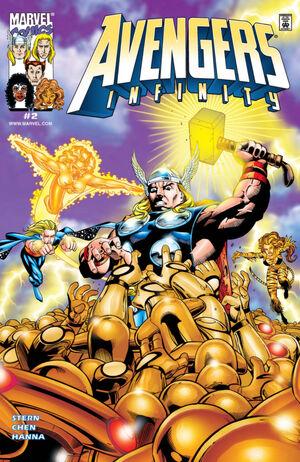 Avengers Infinity Vol 1 2