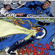Mister Fantastic stops an act of sabotage from Fury Vol 1 1