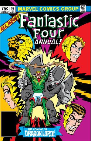 Fantastic Four Annual Vol 1 16