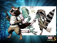 Rocket Raccoon (Earth-30847) from Marvel vs. Capcom 3 Fate of Two Worlds 0004