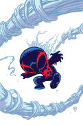 Spider-Man 2099 Vol 2 1 Baby Variant Textless