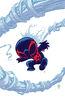 Spider-Man 2099 Vol 2 1 Baby Variant Textless