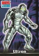 Ultron (Earth-616) from Marvel Legends (Trading Cards) 0001