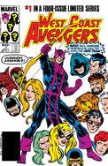 West Coast Avengers Vol 1 1