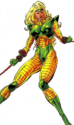 Ravonna Renslayer (Earth-6311) from All-New Official Handbook of the Marvel Universe Vol 1 11 0001