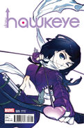 All-New Hawkeye Vol 1 5 Manga Variant