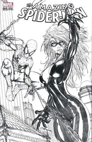 File:Amazing Spider-Man Vol 4 15 Aspen Store Exclusive Black & White Variant.jpg