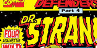 Doctor Strange, Sorcerer Supreme Annual Vol 1