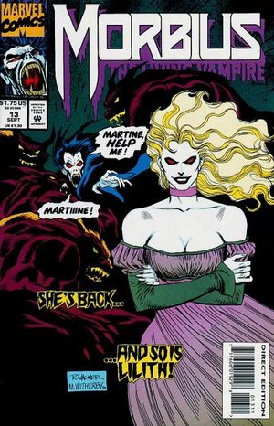 Morbius The Living Vampire Vol 1 13
