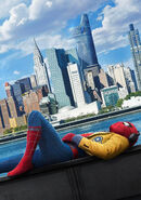 Spider-Man Homecoming poster 001 Textless