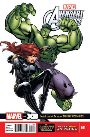 Marvel Universe Avengers Assemble Vol 1 11