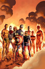 Captain America Reborn Vol 1 3 Cassaday Variant Textless