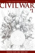 Civil War Vol 1 1 Sketch Variant