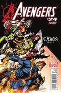 Avengers Vol 5 24.NOW X-Men as Avengers Garbett Variant