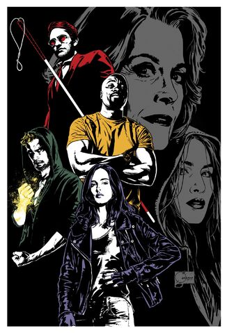 File:Marvel's The Defenders textless poster 001.jpg